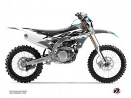 Yamaha 450 WRF Dirt Bike Skew Graphic Kit Grey