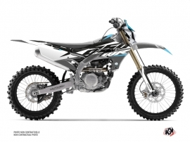 Yamaha 250 WRF Dirt Bike Skew Graphic Kit Grey