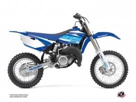 Yamaha 85 YZ Dirt Bike Outline Graphic Kit Blue