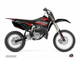 Yamaha 85 YZ Dirt Bike Outline Graphic Kit Red