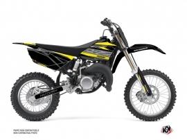 Yamaha 85 YZ Dirt Bike Outline Graphic Kit Yellow