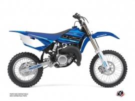 Yamaha 85 YZ Dirt Bike Outline Graphic Kit Cyan