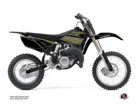 Yamaha 85 YZ Dirt Bike Outline Graphic Kit Kaki