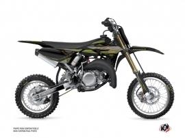 Kit Déco Moto Cross Outline Yamaha 65 YZ Kaki