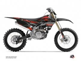 Yamaha 450 WRF Dirt Bike Outline Graphic Kit Red