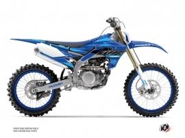 Yamaha 450 WRF Dirt Bike Outline Graphic Kit Cyan