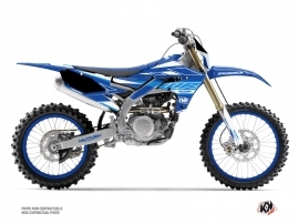 Kit Déco Moto Cross Outline Yamaha 250 WRF Bleu