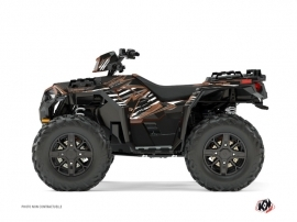 Polaris 850 Sportsman Forest ATV Jungle Graphic Kit Brown