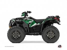 Polaris 850 Sportsman Forest ATV Jungle Graphic Kit Black Green