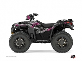 Polaris 850 Sportsman Forest ATV Lifter Graphic Kit Pink