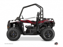 Polaris ACE 325-570-900 UTV Action Graphic Kit Red