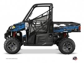 Polaris Ranger 900 XP UTV Action Graphic Kit Blue