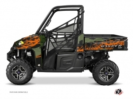 Polaris Ranger 900 UTV Action Graphic Kit Green