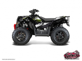 Kit Déco Quad Action Polaris Scrambler 850-1000 XP Vert FULL