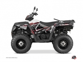 Kit Déco Quad Action Polaris 570 Sportsman Forest Rouge
