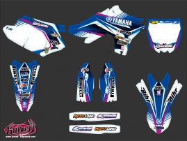 Kit Déco Moto Cross Replica Adrien Van Beveren Yamaha 450 YZF 2011
