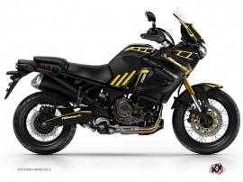 Kit Déco Moto Adventure Yamaha XTZ 1200 Super TENERE Noir Jaune