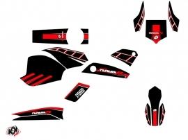 Yamaha XTZ 1200 Super TENERE Street Bike Adventure Graphic Kit Black Red