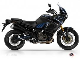 Kit Déco Moto Adventure Yamaha XTZ 1200 Super Ténéré Noir Bleu