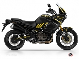 Kit Déco Moto Adventure Yamaha XTZ 1200 Super Ténéré Noir Jaune