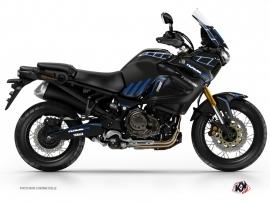 Kit Déco Moto Adventure Yamaha XTZ 1200 Super Ténéré World Crosser Noir Bleu