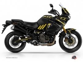 Kit Déco Moto Adventure Yamaha XTZ 1200 Super Ténéré World Crosser Noir Jaune