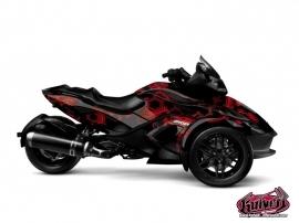 Kit Déco Aero Can Am Spyder RS Noir