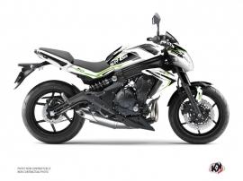 Kit Déco Moto Airline Kawasaki ER 6N Blanc