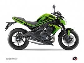 Kit Déco Moto Airline Kawasaki ER 6N Vert