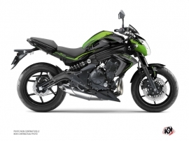Kawasaki ER 6N Street Bike Airline Graphic Kit Green Black