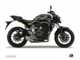 Kit Déco Moto Airline Yamaha MT 07 Noir Jaune