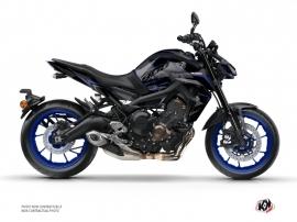 Kit Déco Moto Airline Yamaha MT 09 Noir Bleu