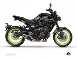 Kit Déco Moto Airline Yamaha MT 09 Noir Jaune