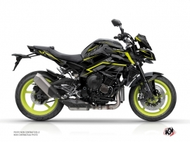 Yamaha MT 10 Street Bike Airline Graphic Kit Black Yellow