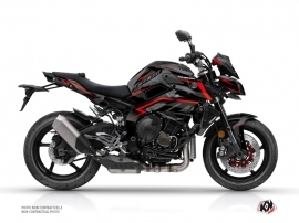 Yamaha MT 10 Street Bike Airline Graphic Kit Black Red
