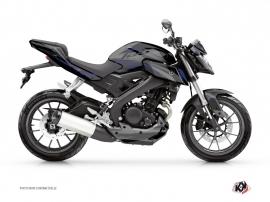 Kit Déco Moto Airline Yamaha MT 125 Noir Bleu