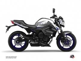Kit Déco Moto Airline Yamaha XJ6 Blanc Bleu