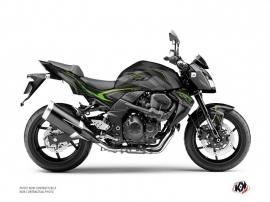 Kit Déco Moto Airline Kawasaki Z 750 Noir Vert