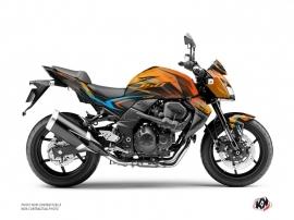 Kit Déco Moto Airline Kawasaki Z 750 Orange