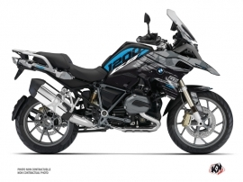 Kit Déco Moto Akte BMW R 1200 GS Exclusive Bleu