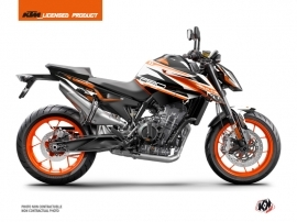 KTM Duke 790 Street Bike Arkade Graphic Kit Orange White