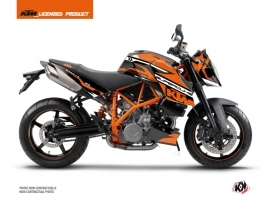 KTM Super Duke 990 Street Bike Arkade Graphic Kit Black Orange