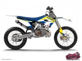Husqvarna 250 FE Dirt Bike Assault Graphic Kit