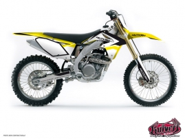 Suzuki 450 RMZ Dirt Bike Assault Graphic Kit