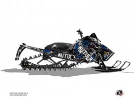 Kit Déco Motoneige Aztek Arctic Cat Pro Climb Gris Bleu