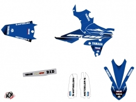 Yamaha 250 WRF Dirt Bike Basik Graphic Kit Blue LIGHT