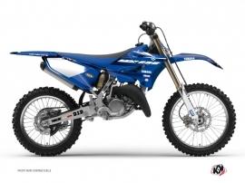 Kit Déco Moto Cross Basik Yamaha 250 YZ Bleu