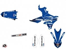 Kit Déco Moto Cross Basik Yamaha 250 YZF Bleu LIGHT