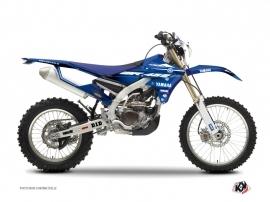 Yamaha 450 WRF Dirt Bike Basik Graphic Kit Blue