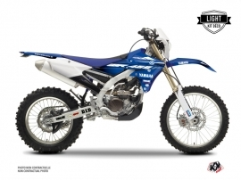 Kit Déco Moto Cross Basik Yamaha 450 WRF Bleu LIGHT